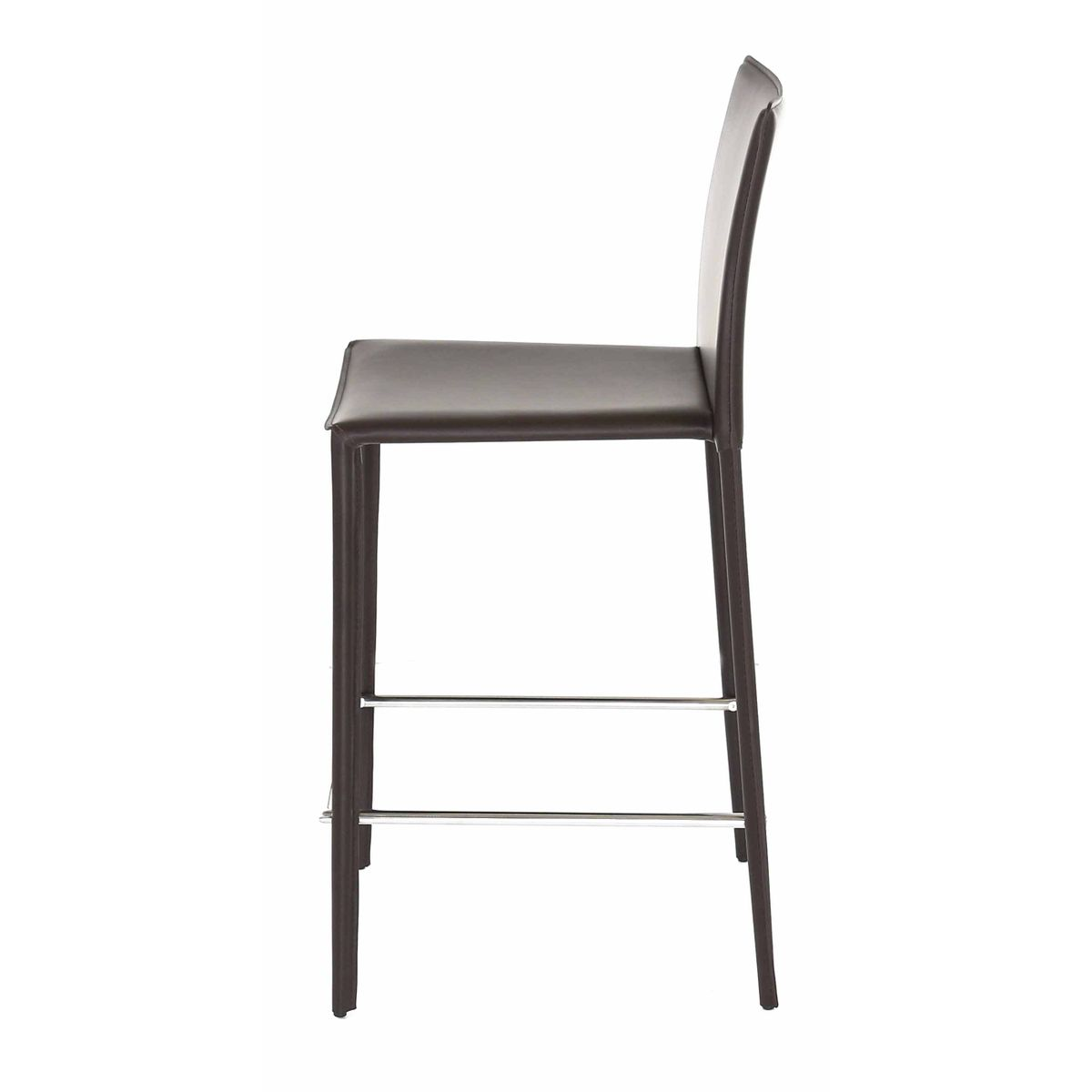 chaise de bar marron zago store. Black Bedroom Furniture Sets. Home Design Ideas