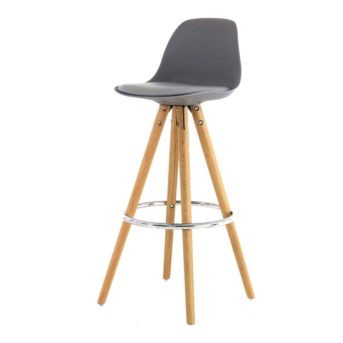 2x chaise de bar haute circus zago store. Black Bedroom Furniture Sets. Home Design Ideas