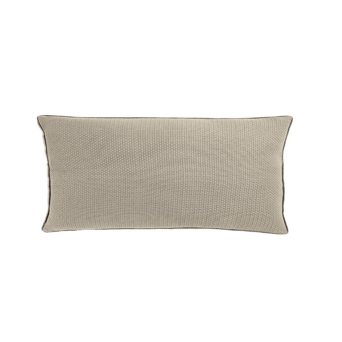 coussin style caractere loft et industriel en coton cendr 60 x 30 cm isak zago store. Black Bedroom Furniture Sets. Home Design Ideas