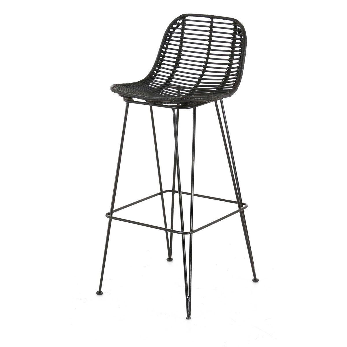 2x tabouret de bar kubu fresh zago store for Chaise de bar en osier
