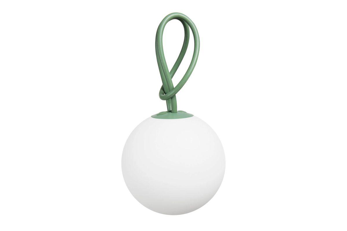 Lampe pendentif verte Bolleke