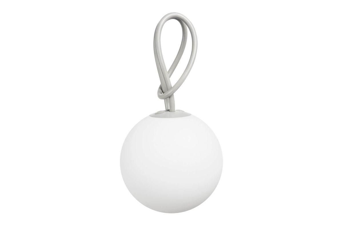 Lampe pendentif grise Bolleke