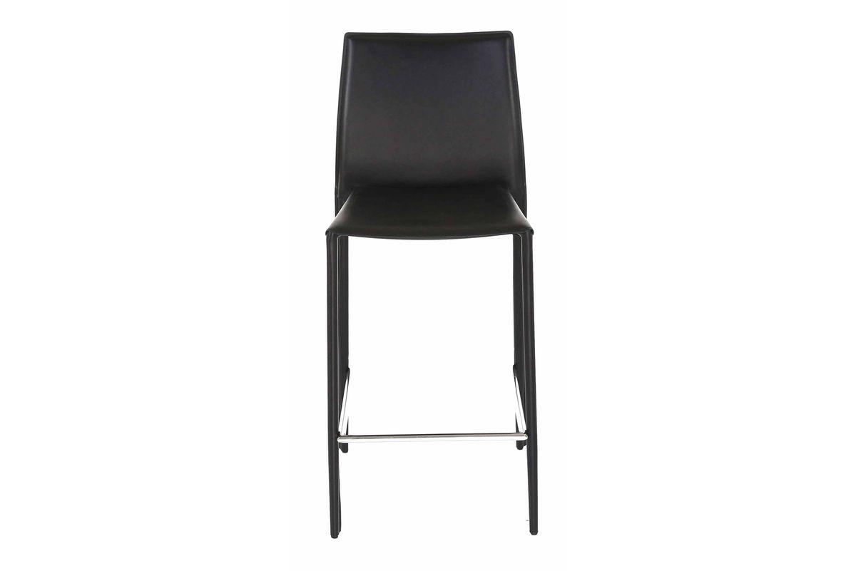 2 x Chaise plan de travail noire Boréale