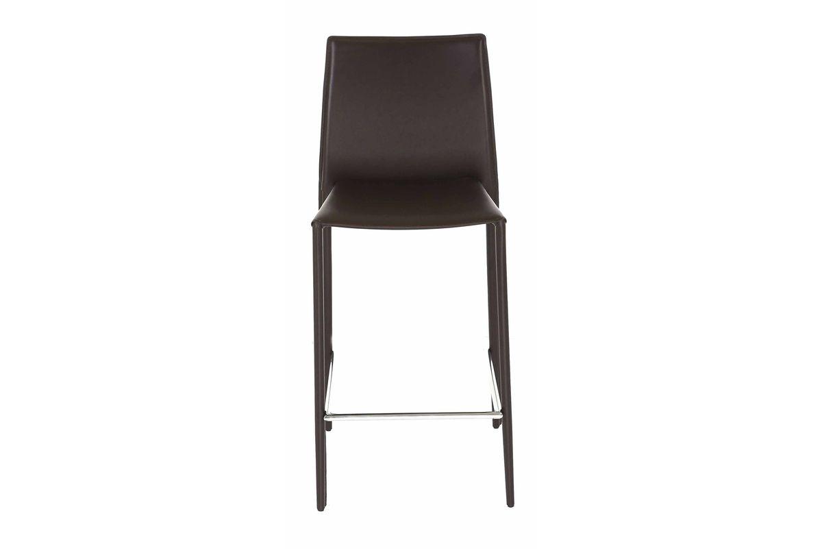 2 x Chaise plan de travail chocolat Boréale