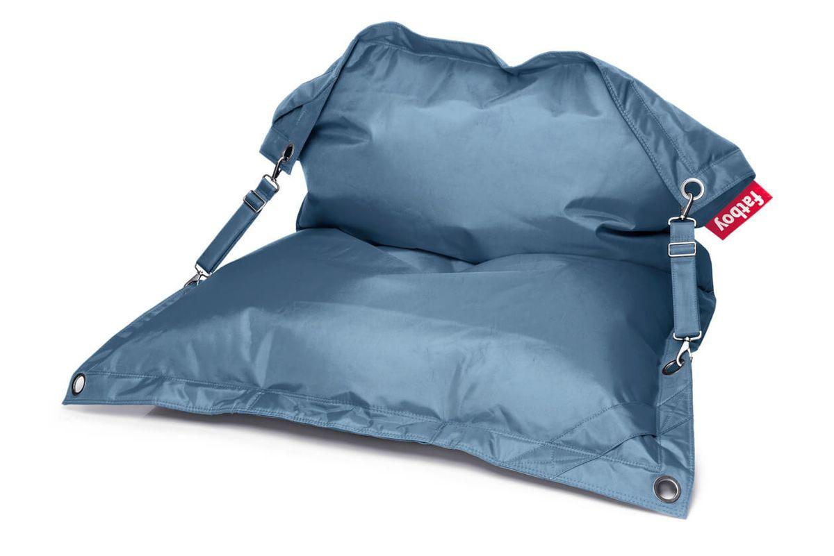 Pouf polyvalent bleu jean Buggle-UP