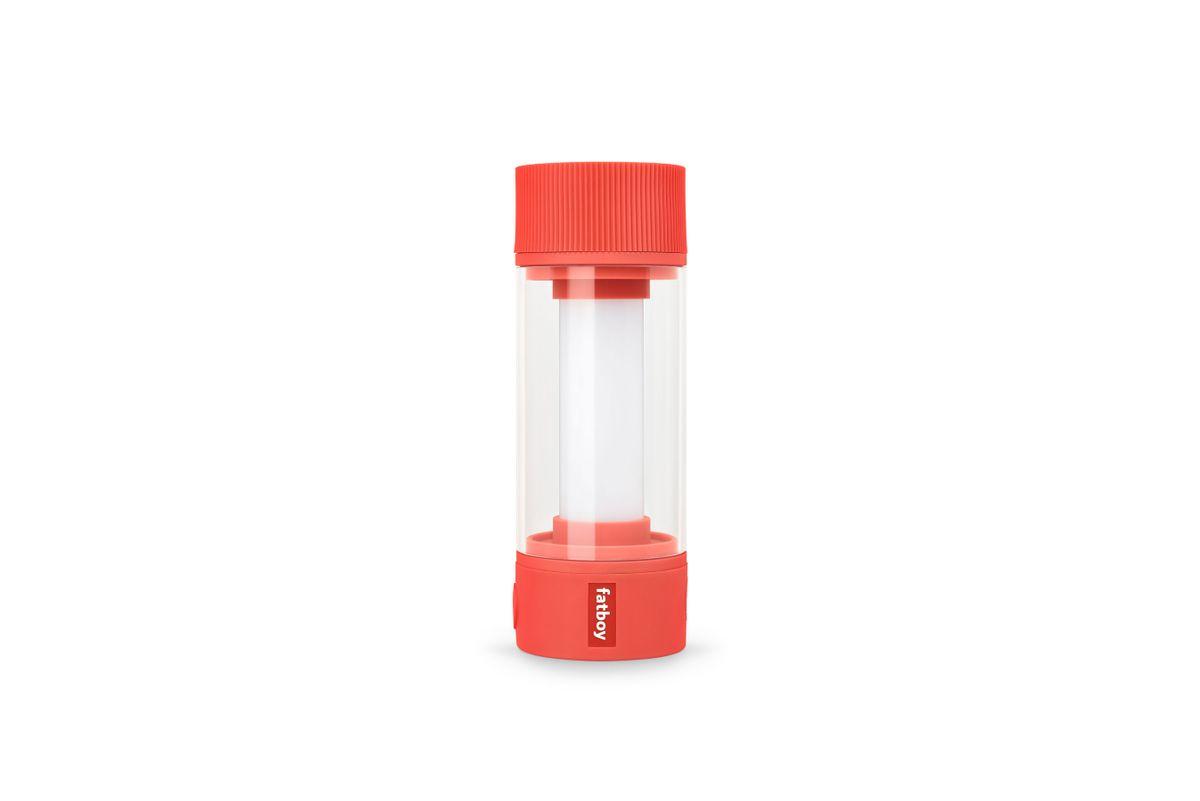 Lampe sans fil rechargeable rouge vermillon Tjoepke