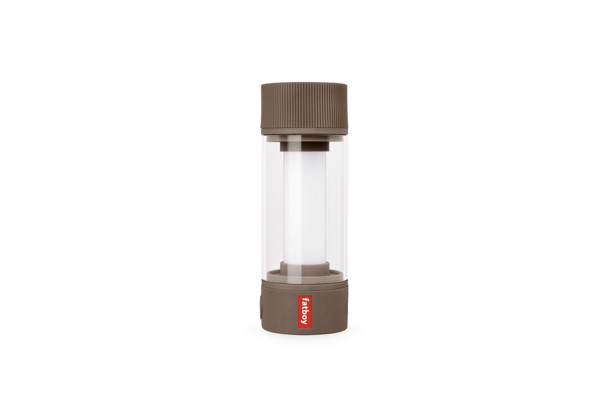 Lampe sans fil rechargeable marron Tjoepke