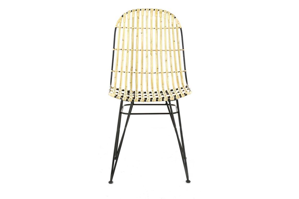 chaise kubu structure métal