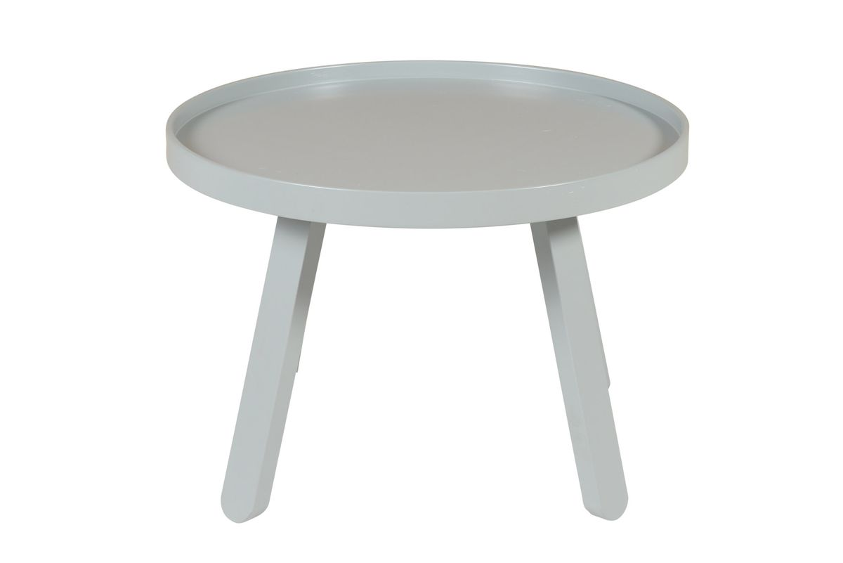 Table grise Ø 58 cm Mjuk