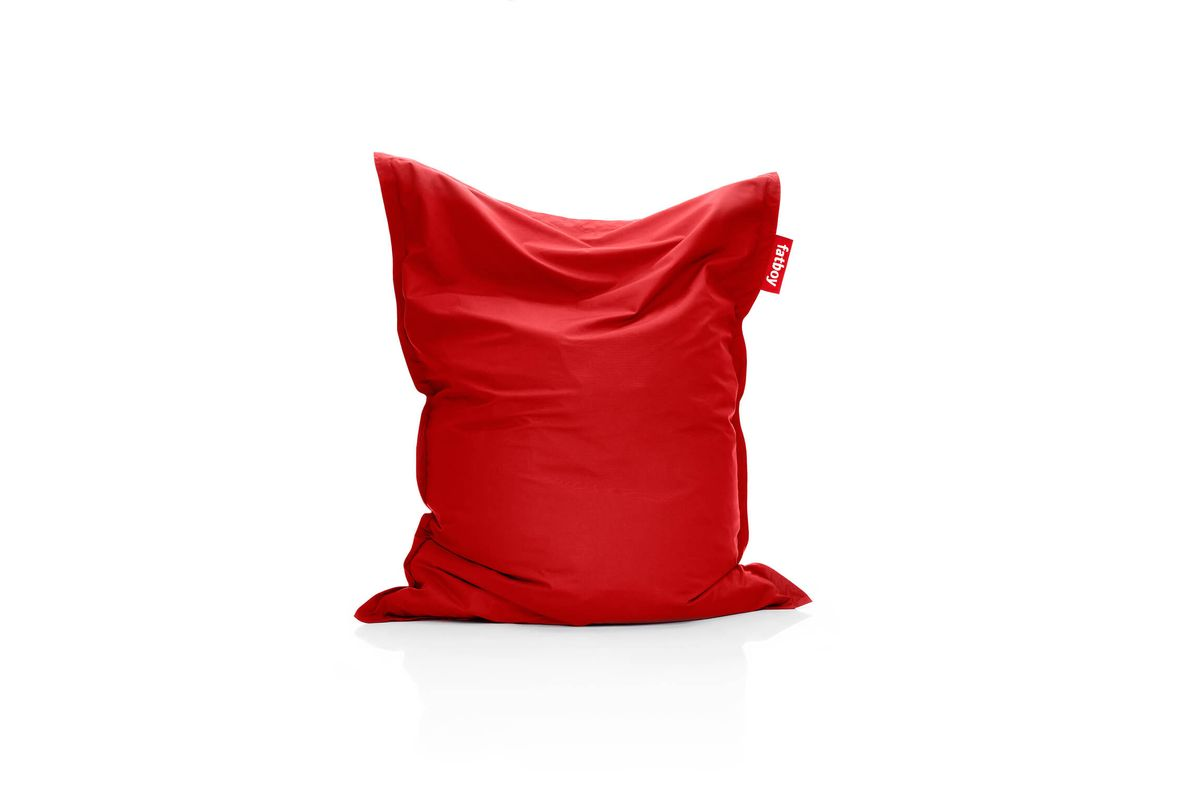 Pouf outdoor rouge