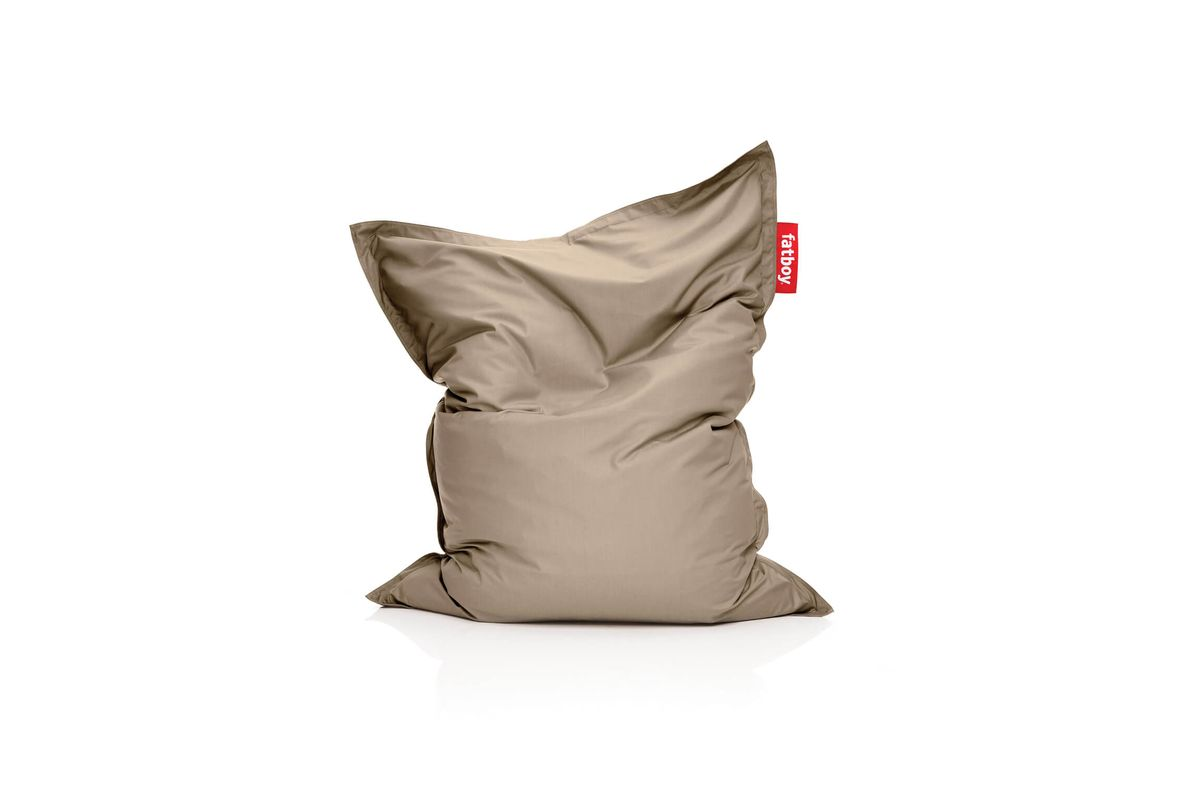 Pouf outdoor sable