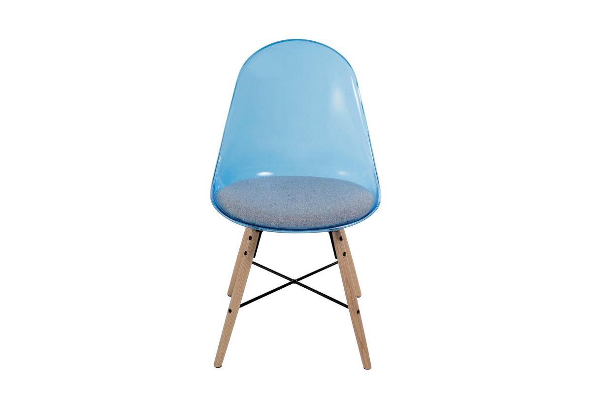 Chaise de repas bleu Plexy (lot de 2)