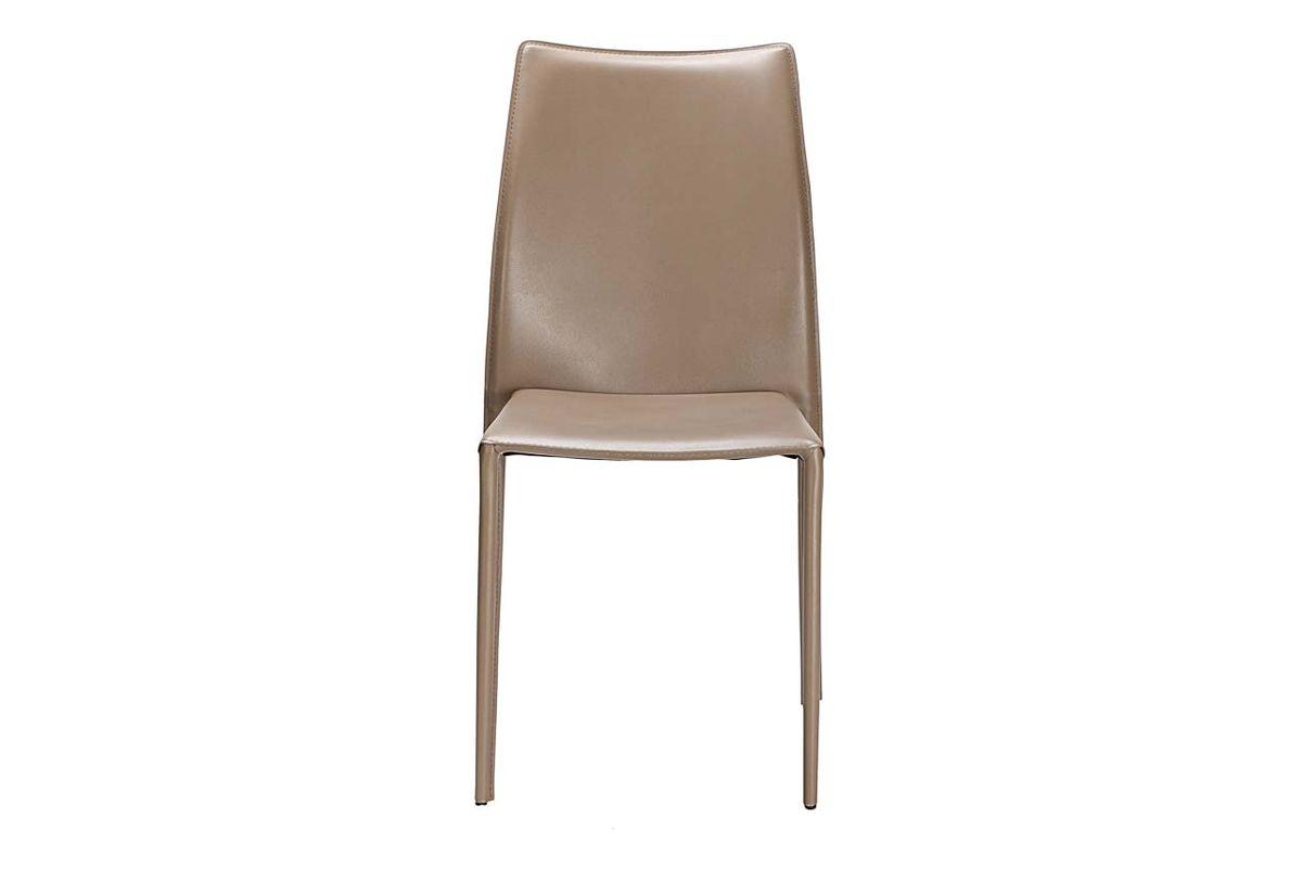 Chaise de repas en synderme sable Solène