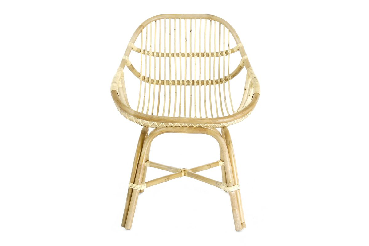 fauteuil rotin naturel
