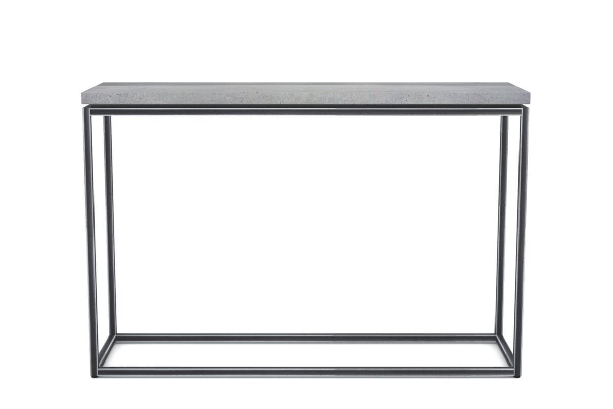 Console en béton et métal Tray
