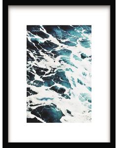 Affiche Blue Wave Art 41 x 31 cm Urban Cotton