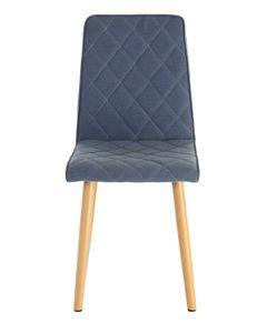 Chaise feutre gris clair Cara