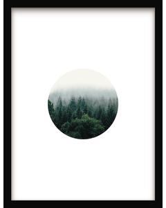 Affiche Circle Landscape 41 x 31 cm Urban Cotton