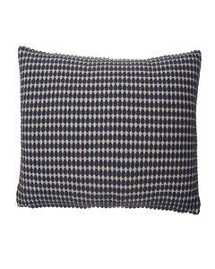 Housse de coussin en coton à motifs carrée 50 x 50 cm Lino
