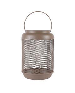 Lanterne métal vert argile h23,5 cm Eden