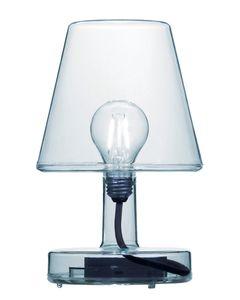Lampe de table bleu Transloetje
