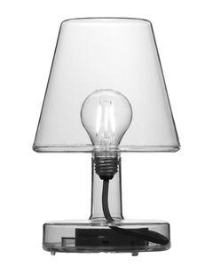 Lampe de table grise Transloetje