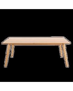 Table extensible chêne massif 180 cm allonges en option Elfy