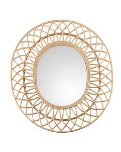 Miroir rotin naturel Tulum