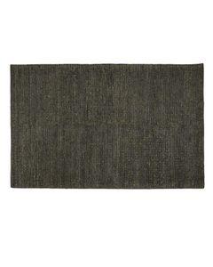 Tapis laine de Nouvelle-Zélande gris 170 x 120 cm Bori