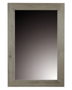 Miroir teck naturel teinté clair 120 x 80 cm Cosmopolitan