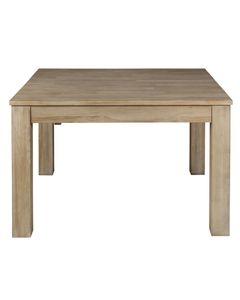 Table repas carrée allonge intégrée