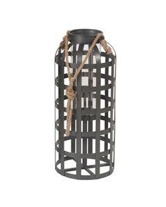 Lanterne époxy gris anthracite 73 cm THOR