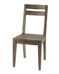 Chaise de bar chêne et métal Spirit
