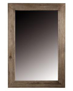 Miroir teck teinté foncé