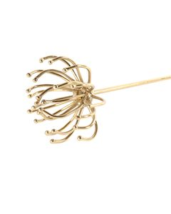Brindille décorative art déco vintage  métal doré 35 cm Gold