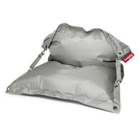 Pouf polyvalent gris clair Buggle-Up