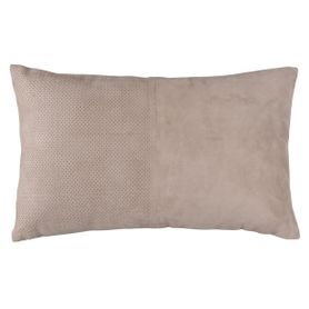 Coussin rectangulaire taupe BODIE