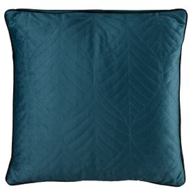 Coussin carré 45 x 45 cm bleu CRYSTAL
