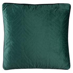 Coussin carré 45 x 45 cm vert CRYSTAL
