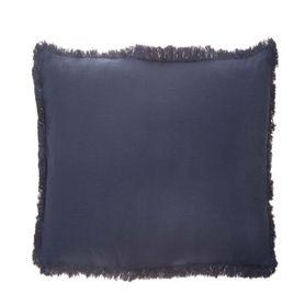 Coussin en coton bleu 45 x 45 cm Enes