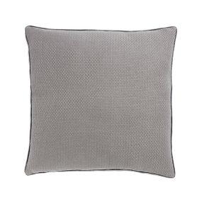 Coussin en coton gris 45 x 45 cm Isak