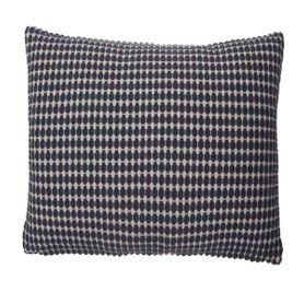 Coussin en coton à motif carré 50 x 50 cm Lino