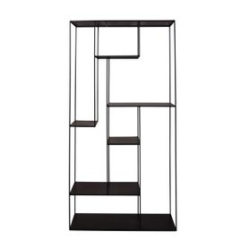 Etagère en métal H180 cm 8 niches Expo