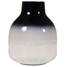 Vase noir et blanc HALEY