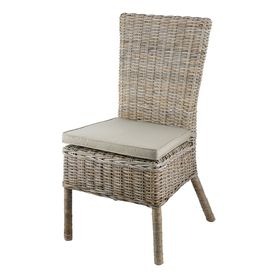 Chaise en demi Kubu empilable