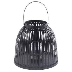 Lanterne en bamboo noir HAKO