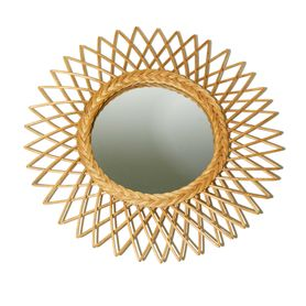 Miroir rotin bohème Garden