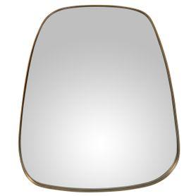 Miroir finition laiton 75 cm MARLA