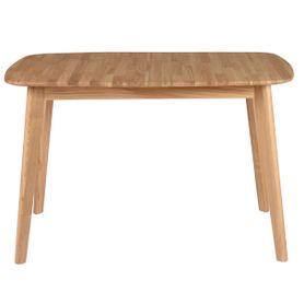 Table repas 120 cm chêne avec allonge Percy