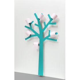 Porte Papier WC PQTIER Turquoise